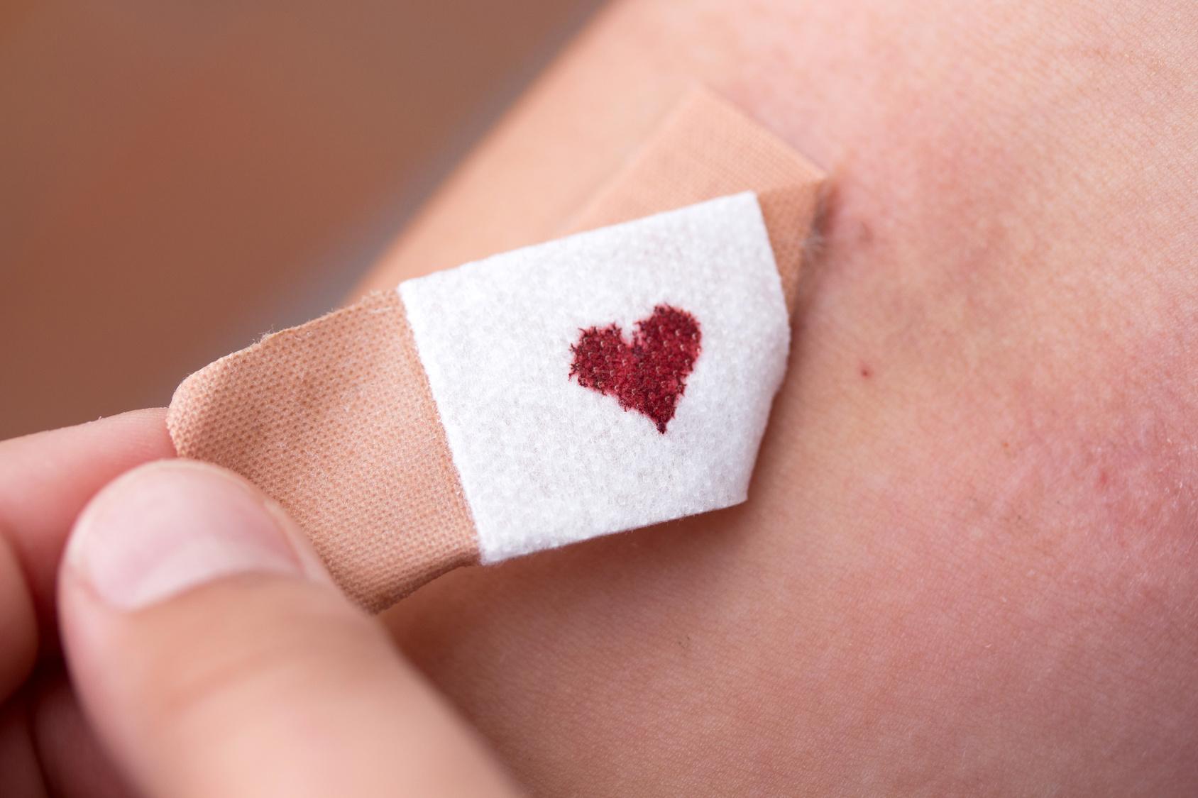 Herz Pflaster Cholesterin